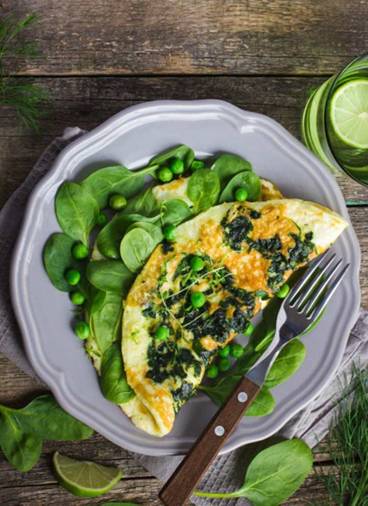 spinach-chesse-omelette-recipe