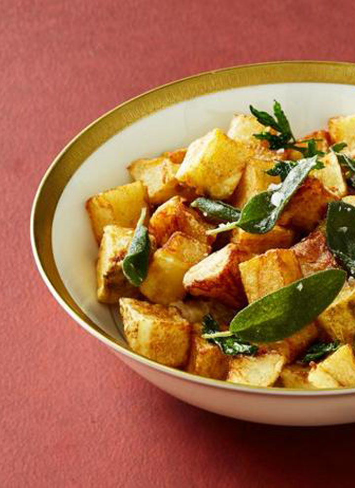 fried potatoes with tofu recipe