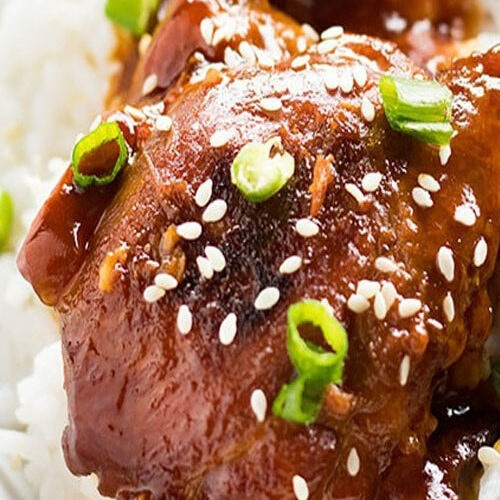 Honey Sesame Chicken Thighs Recipe
